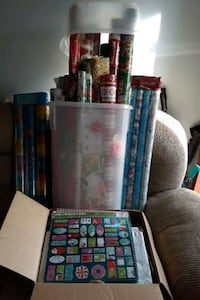 Christmas Wrapping Paper,  etc.
