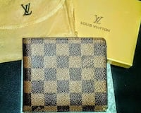 Louis Vuitton Leather Mens Wallet - NWT Silver Spring, 20906