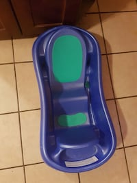 baby's blue plastic bather Calgary, T2A 5Y4