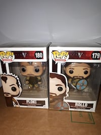 two Pop Television Floki and Rollo vinyl figure boxes Thorold, L2V 4L5