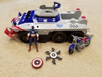 Marvel Captain America Avengers Assault Tank Springfield