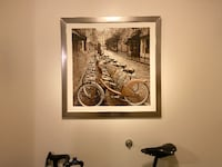 Vintage Bicycle Picture & Frame Charlotte