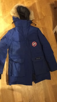 Canada goose expedition parka blå
