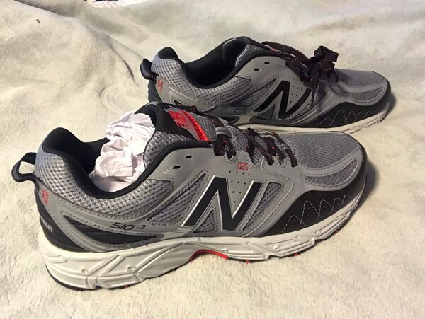 f1b4c1f6578 Used Pair of gray-and-white new balance men s shoes size 11 for sale in  Bowling Green