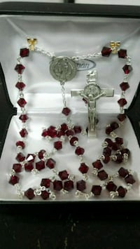 CRYSTAL STERLING SILVER ROSARY. West Covina, 91790