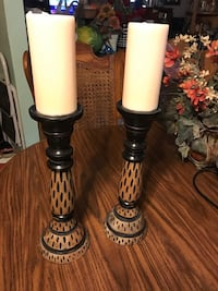 Beautiful tall candle/ candle holders ( porch pick up only ) Knoxville, 37912