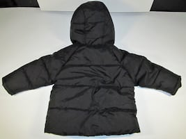 18 MONTHS BOYS WONDER NATION BLACK WINTER COAT