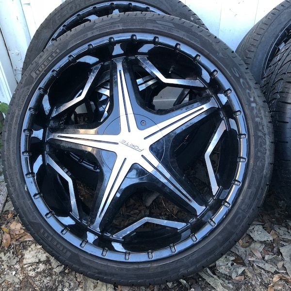 Used  Forte Rims And Like New Tires For Sale In Tampa