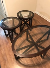 Coffee and matching end tables (2) Norfolk, 23509