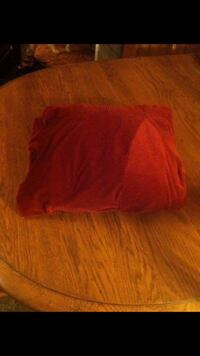 Red Velour Armchair Cover!