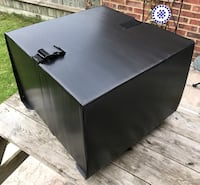 Universal Delivery Box with Steel Frame - Courier Kit London