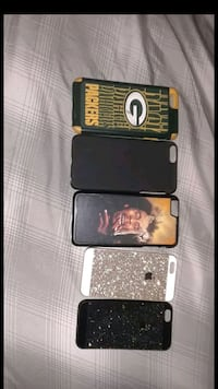 five assorted-color-and-pattern iPhone cases Moreno Valley, 92555