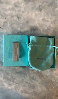 Tiffany sterling silver money clip (used)