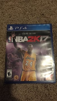 NBA 2K17 PS4 game case Papillion, 68046