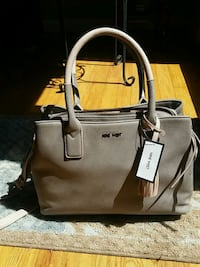 brown leather 2-way bag Anderson, 29626
