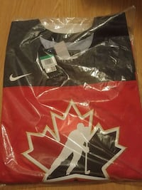 Brand new mens CANADIAN hockey jersey