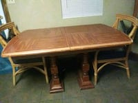 Thick oak wood table. Midwest City