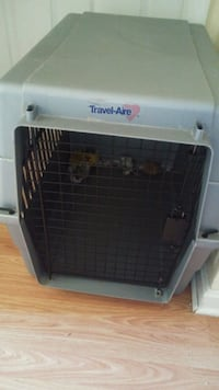 DOG CRATE- for small-medium size dog PRICE IS FIRM