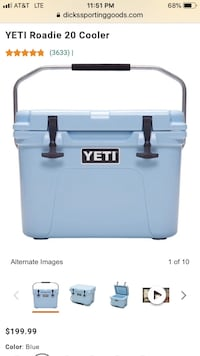 Yeti Roadie 20 cooler  Columbia, 21045