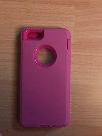 Pink iPhone 6's otter like case $10 Calgary, T2A 6Y8
