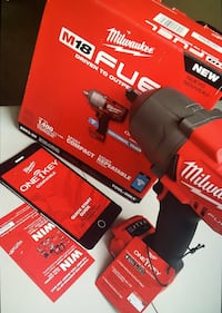 "Milwaukee FUEL ONE-KEY: New High Torque Impact Wrench 1/2"" Friction Ring Bare New Brand Los Angeles, 91343"
