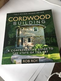 Cordwood Building A Comprehensive Guide To The State Of The Art by Rob Roy book Barrie