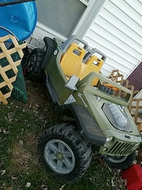 toddler's gray ride on toy