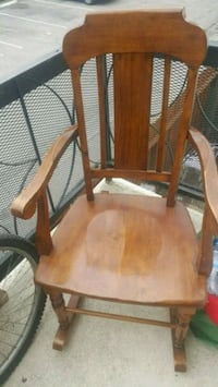 brown wooden windsor rocking chair Downey, 90240