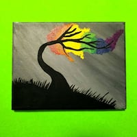 Color Tree Canvas