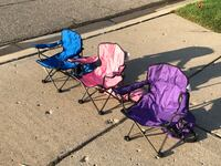 Set of 4 Children's Folding Chairs Oakland Township, 48306