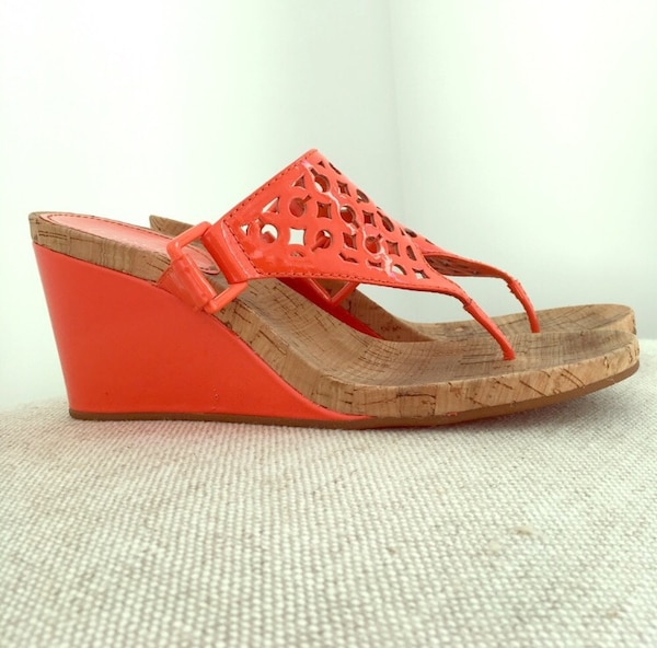 fd2b18fd3360 Used Coach Wedge Sandals for sale in Briarcliff Manor - letgo