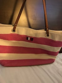 Tommy Hilfiger  Women's pink and brown tote bag Austin, 78753
