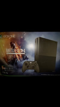 Xbox one s Battlefield 1 Limited Edition with many games Chantilly, 20152