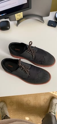 SWIMS Winter Urban Dress Casual Wingtip Shoes Men 10 Black  Monroe, 06468
