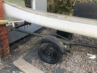 Boat trailer not including the canoe  Boyds, 20841