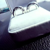 two silver-colored rings vintage ralph lauren