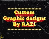 Custom Graphic Designs By Razi Baltimore