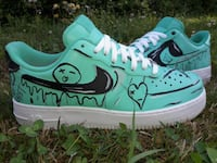 Custom air force ones size 10.5 Clarksville, 37043