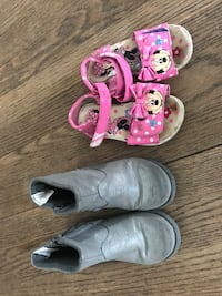 Toddler size 7/8 shoes $7 for both OBO Baltimore, 21234