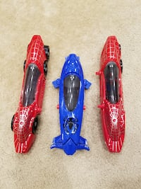 Marvel Amazing Spiderman All Mission Racer (Lights & Sounds) Springfield