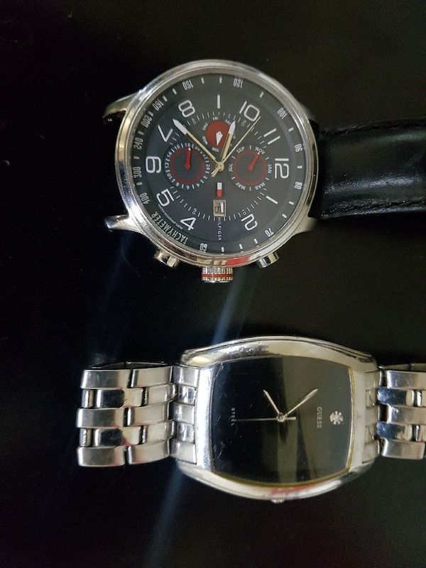 Guess watch + Tommy Hilfiger watch
