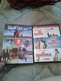 two dvd 3movies on both Chillicothe, 45601