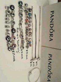 Price in photos- Authentic Pandora Jewelry  Toronto