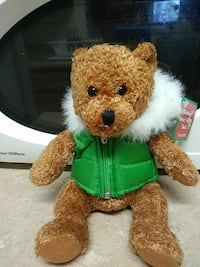Bear holiday bear with vest Temperance, 48182
