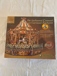 """""""The Enchanted Carousel"""" 3D Puzzle (BRAND NEW) Factory Sealed"""