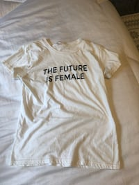 The Future is Female White T-Shirt  Los Angeles, 90025