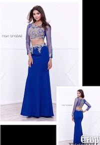 New With Tags Size XS Two Piece Prom/Formal Gown Indianapolis, 46221