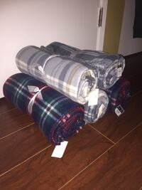 Brand new with tag fleece blankets