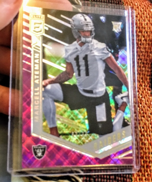 the best attitude fb66b ca992 Epic rare raiders rookie - Marcell Ateman mint only 99 made!