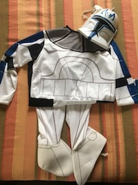Star Wars 1-piece costume (boys age 8-9) Arlington, 22207